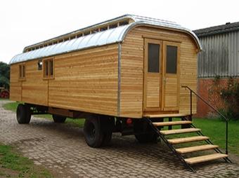 Waldkindergartenwagen mit Oberlicht (Neuaufbau)